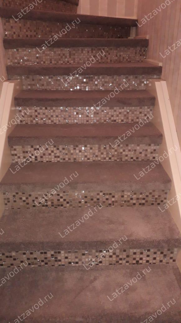 Заказать накладки для лестниц из ковролина