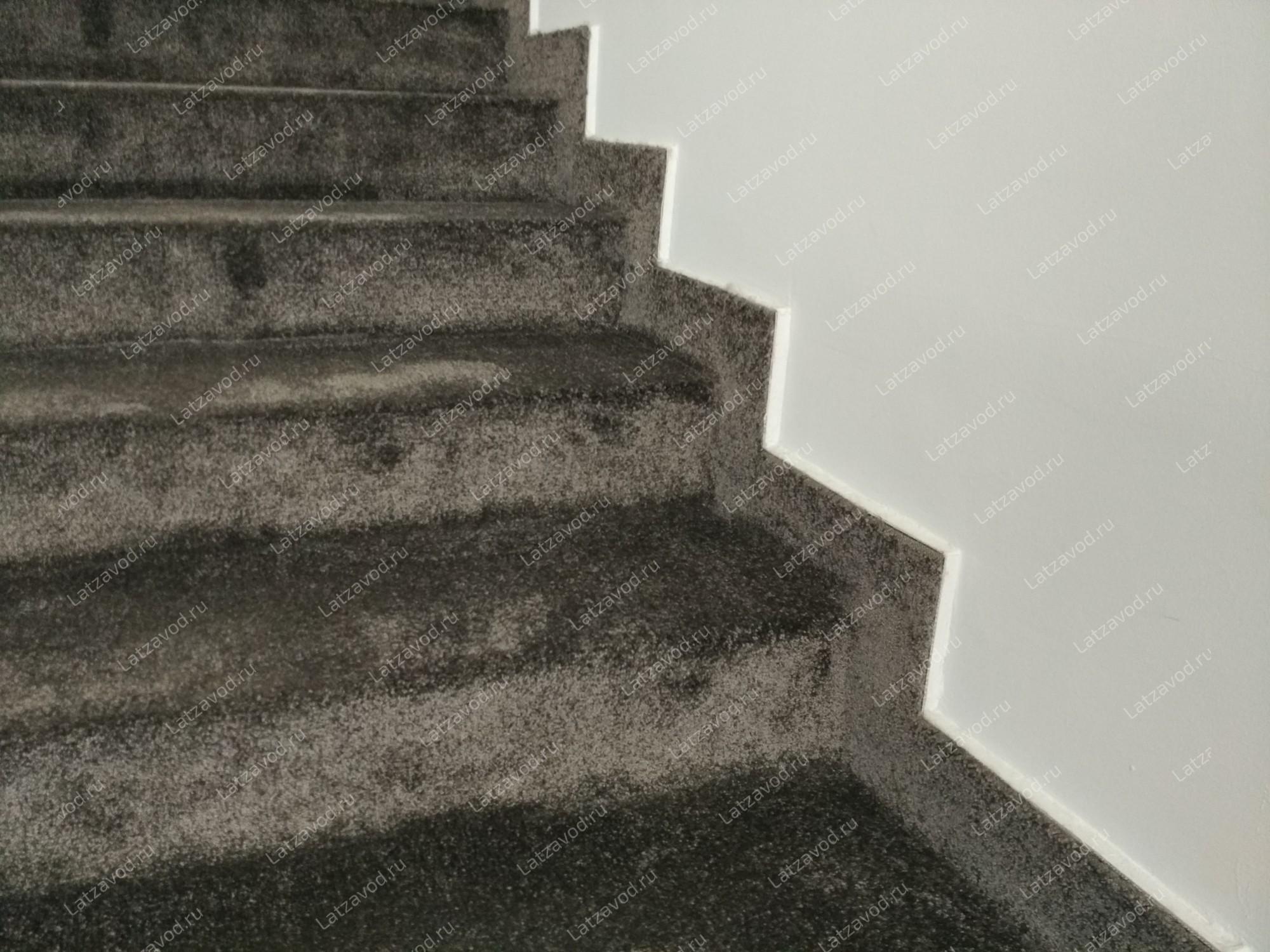 Ковролин на бетонную лестницу в Москве